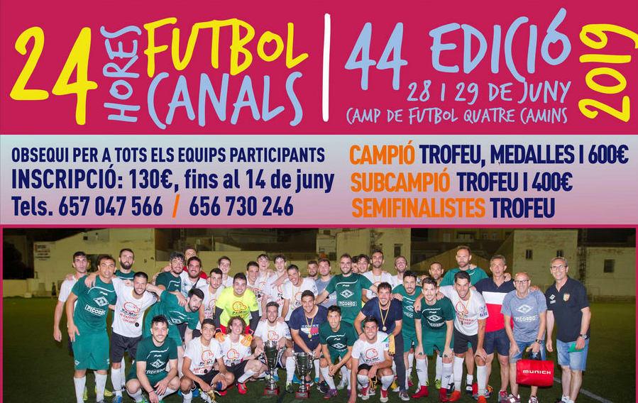 El pròxim divendres 28 de Juny comencen les 24 hores de futbol.