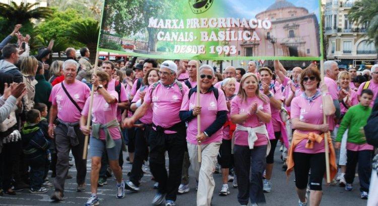 Se cancela la marcha Canals Basílica del 18 de abril