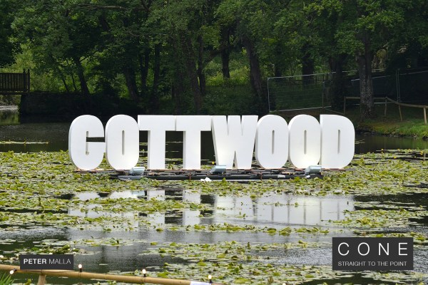 Gottwood sign at Gottwood music festival review on Cone Magazine