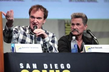 Quentin Tarantino & Kurt Russel on Cone Magazine