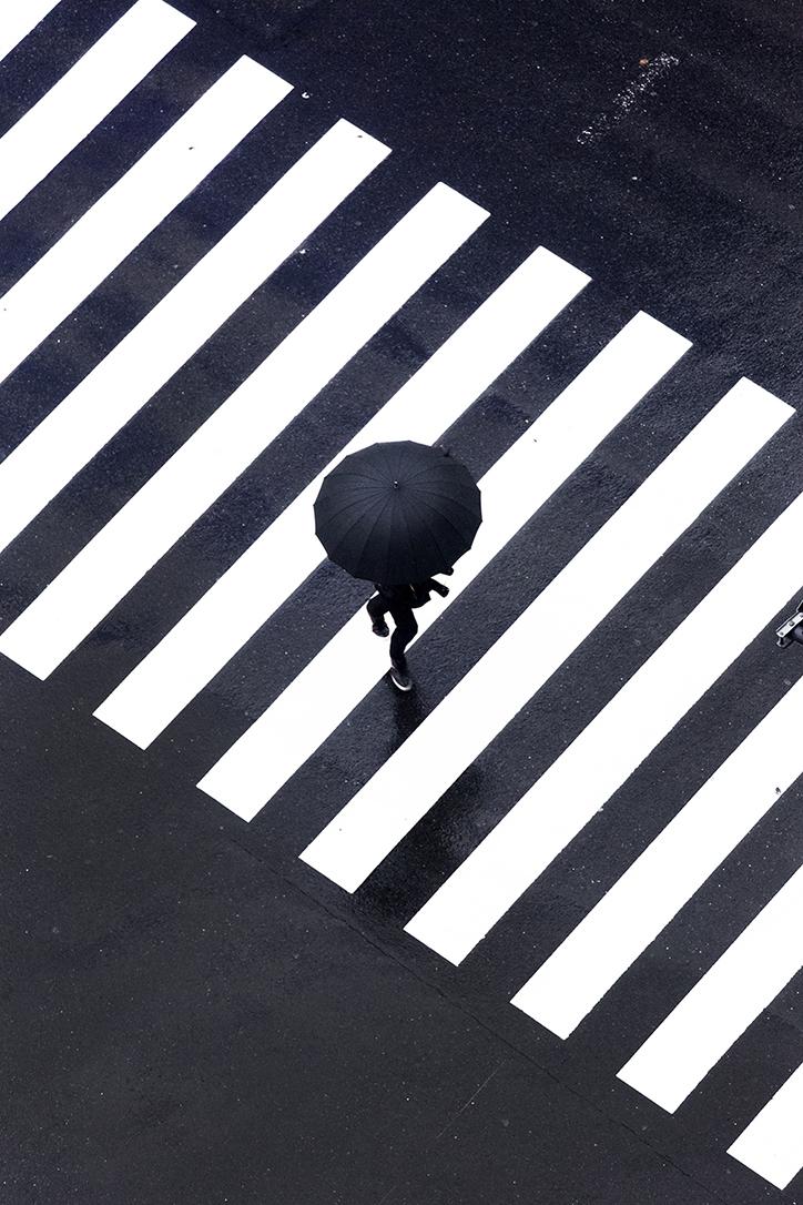 YOSHINORI MIZUTANI rain series on Cone Magazine