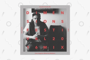 Dimensions Festival cone magazine mix 2016