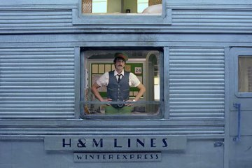 Wes Anderson Adrien Brody H&M Christmas Advert on Cone Magazine