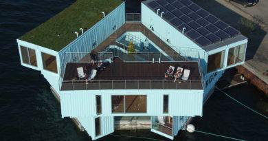 Sustentabilidade:  Moradia estudantil em contêineres