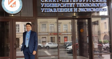 Reitor paraibano recebe Medalha de Honra na Rússia