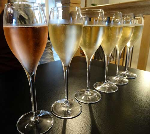 Champagne, degustação
