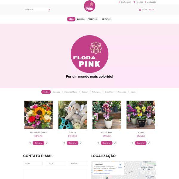 Floricultura Flora Pink
