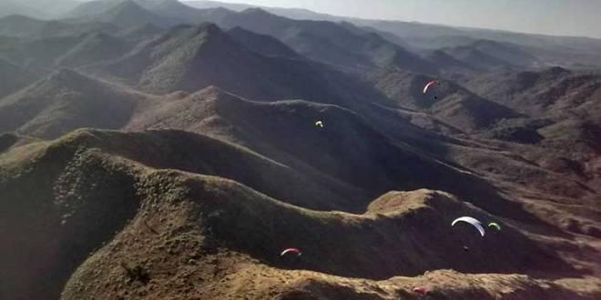 Parapente en Córdoba en el cerro San Jorge
