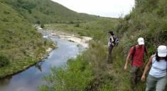 Caminata desde la formación del Río Anisacate