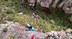 Trekking más escalada en los Gigantes