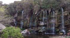 Complejo 7 cascadas en La Falda