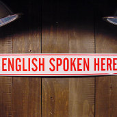 [firma] I want to speak English and I will get it!