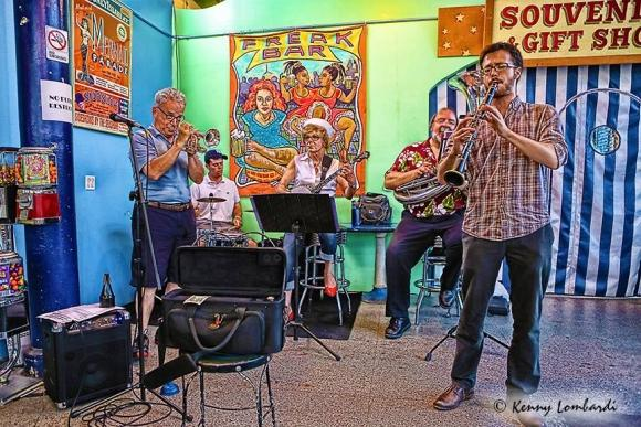 The Coney Island Yacht Club Jazz Band Live At The Freak