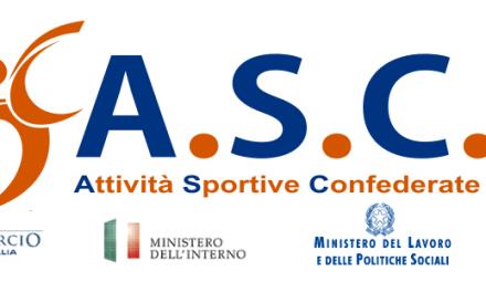 ASC, Attività Sportive Confederate: al via il 2° Memorial Piercarlo Messina