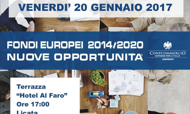 Fondi europei 2014/2020: nuove opportunità dell`europrogettazione