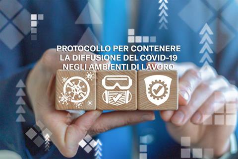 Protocollo per contenere la diffusione Covid-19 negli ambienti di lavoro