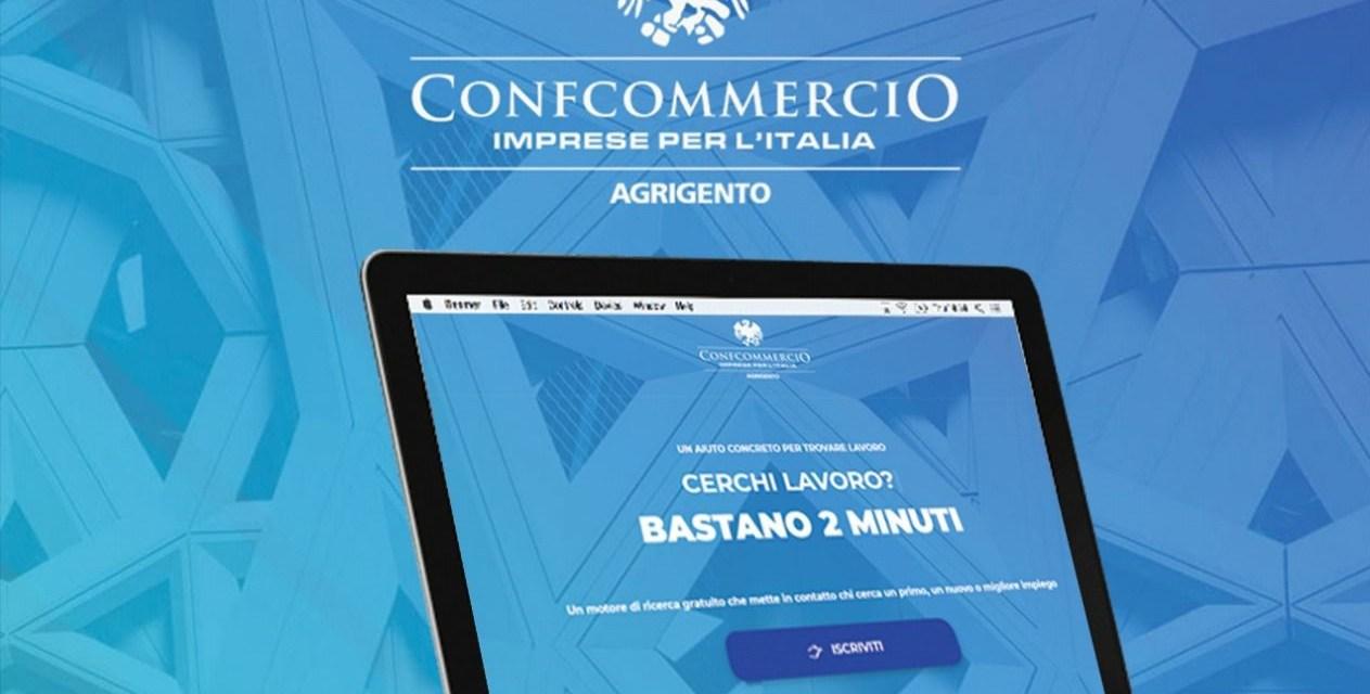 Online il portale lavoro di Confcommercio Agrigento