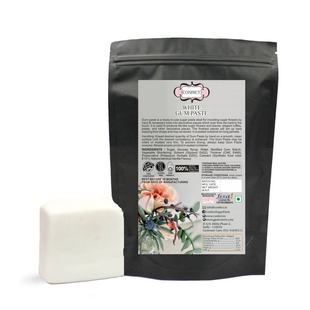 White Gum Paste 1 Kg