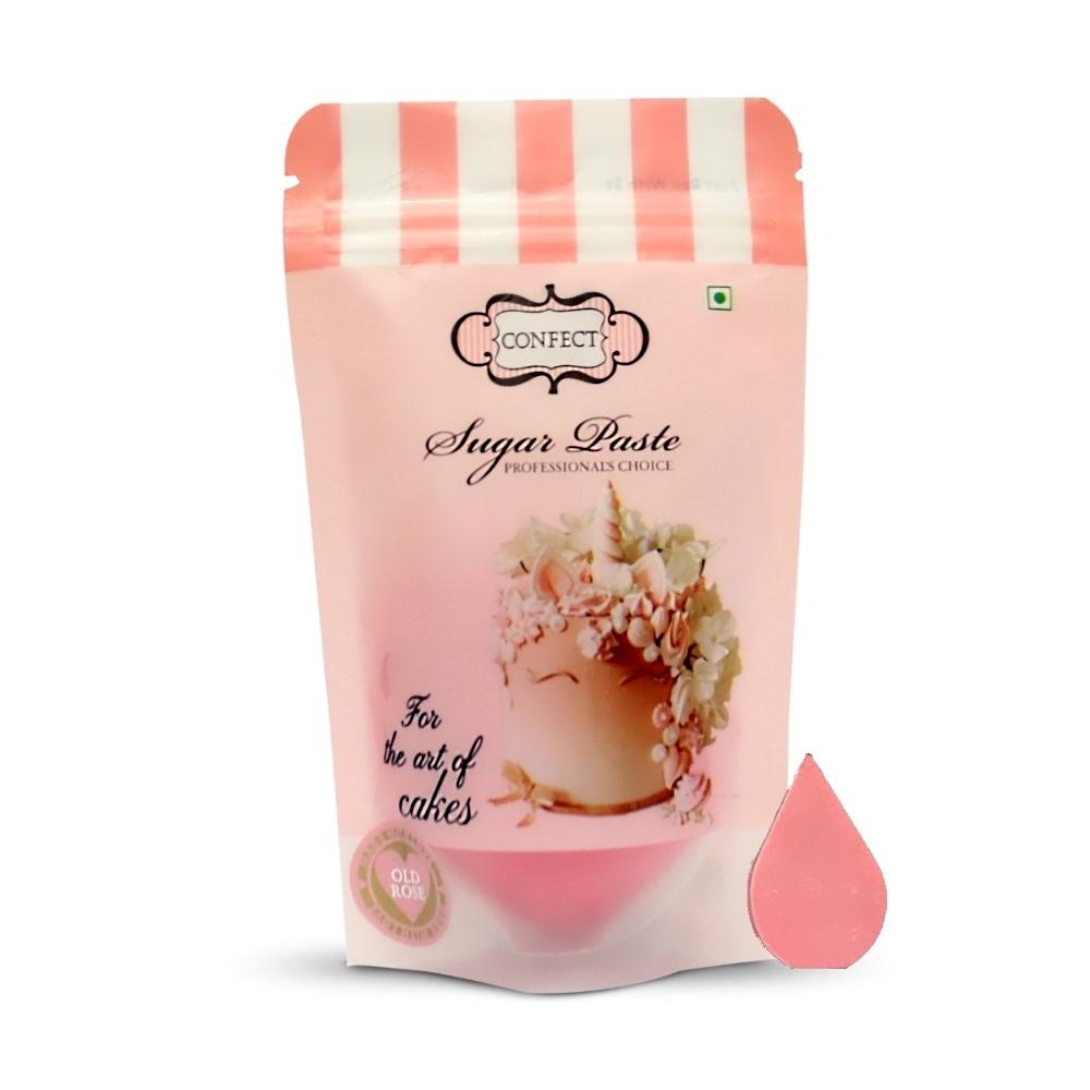 Old Rose Sugar Paste 250 Gms (1)