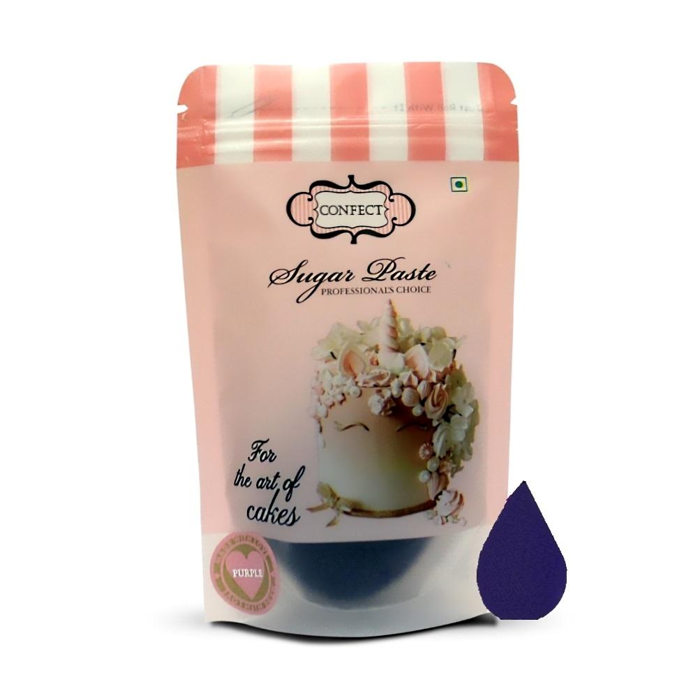 Purple Sugar Paste 250 Gms (1)