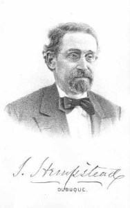Hempstead Stephen from 1880 History of Dubuque County and Biographies