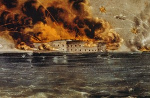 Firing upon Ft. Sumter
