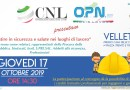 """COMUNICATO STAMPA: Il 17 ottobre prende il via il """"TOUR DELLA SICUREZZA CNL-OPN"""""""