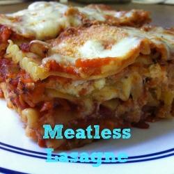Meatless Lasagne