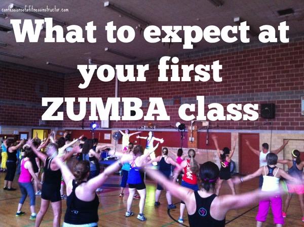 First Zumba Class