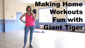 Make Your Home Workouts Fun With Giant Tiger Workout Equipment