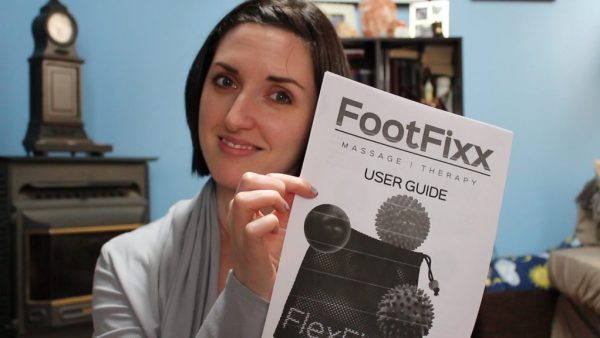 FootFixx is a set of myo-fascial release and reflexology tools that allows you to easily release tension built up in your feet while at the same time reflexing the nerve endings in your feet that correspond with different parts of your body - all at once!