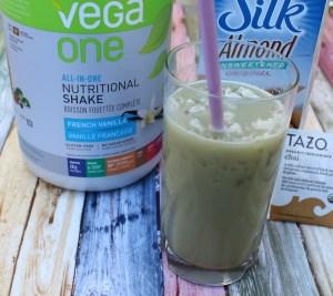 Iced Vanilla Chai Latte Protein Chill #SilkSummerofSmoothies
