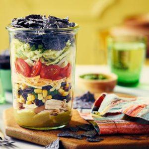 Chicken Taco Salad Jar
