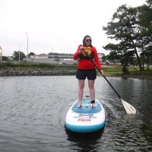 Stand Up Paddle Boarding – Lake Banook #SSSVEDA