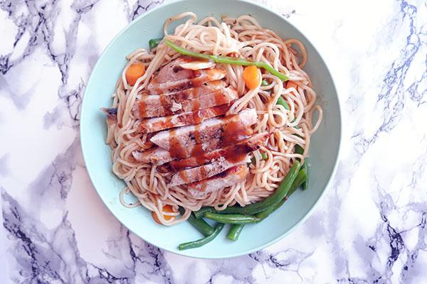 Quick Noodle Bowl | Fitness | Yoga | Dance | Recipes