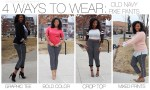 4 Ways To Wear: Old Navy Pixie Pants