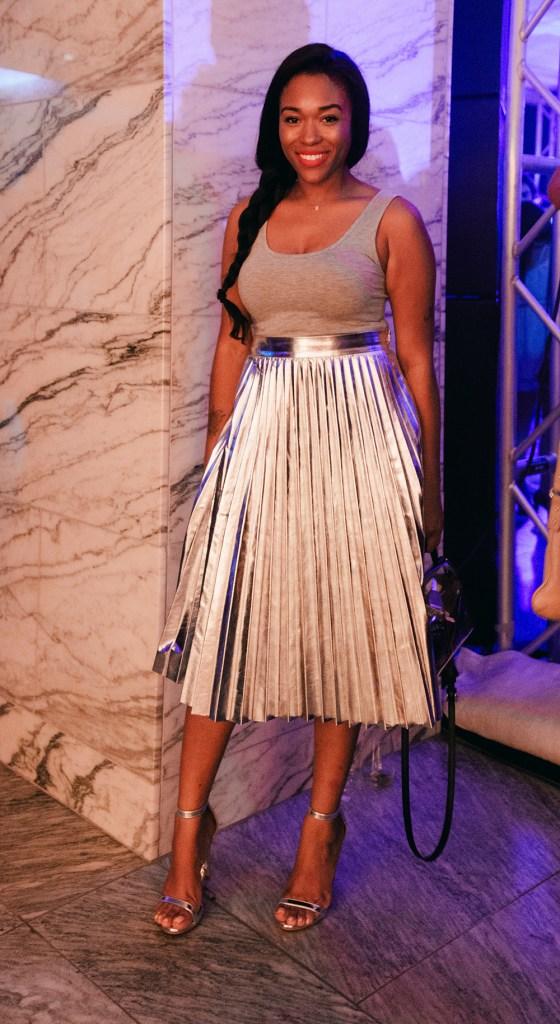 mia+ray+silver+zara+skirt