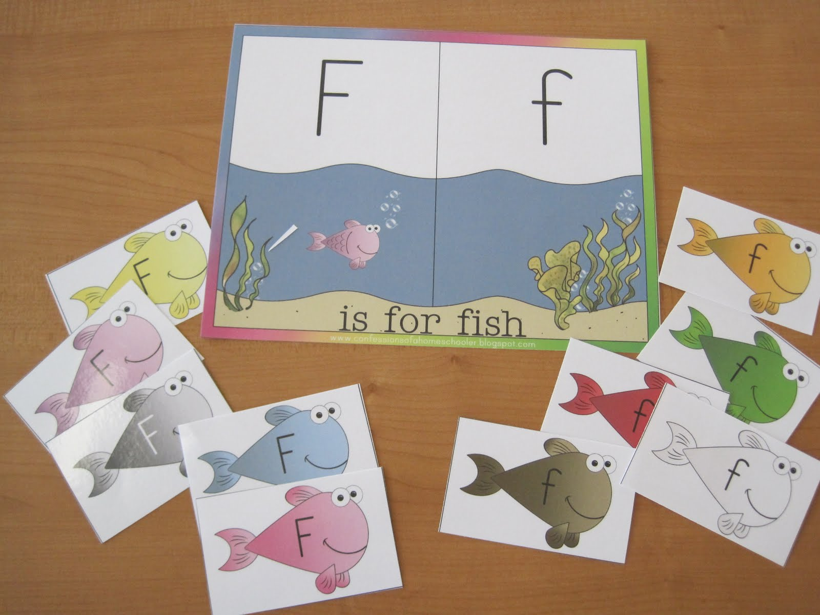 Letter F For Fish