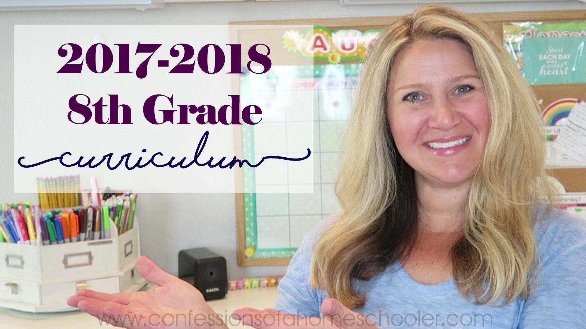 8th Grade Homeschool Curriculum Picks