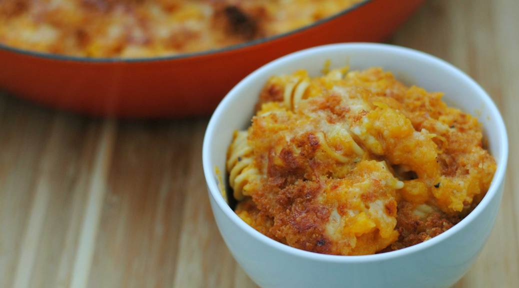 Butternut Squash Mac & Cheese | Confessions of a Midnight Baker