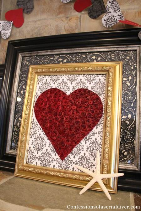 Easy DIY Valentines Day Decor For Less Than 2
