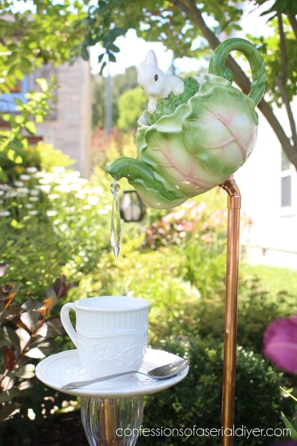 Pinterest Garden Chandeliers
