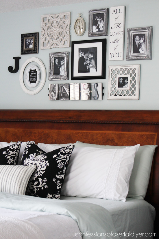 You might be left wondering where to put all of your belongings or how to make the space livable. Bedroom Gallery Wall: a Decorating Challenge