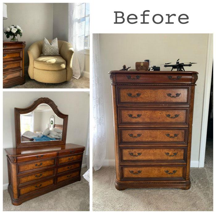 painted bedroom furniture