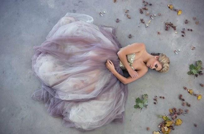 Sequin Glitter Wedding Dresses 3