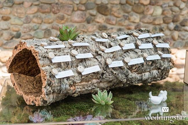 Rustic Woodland Wedding Decor 26