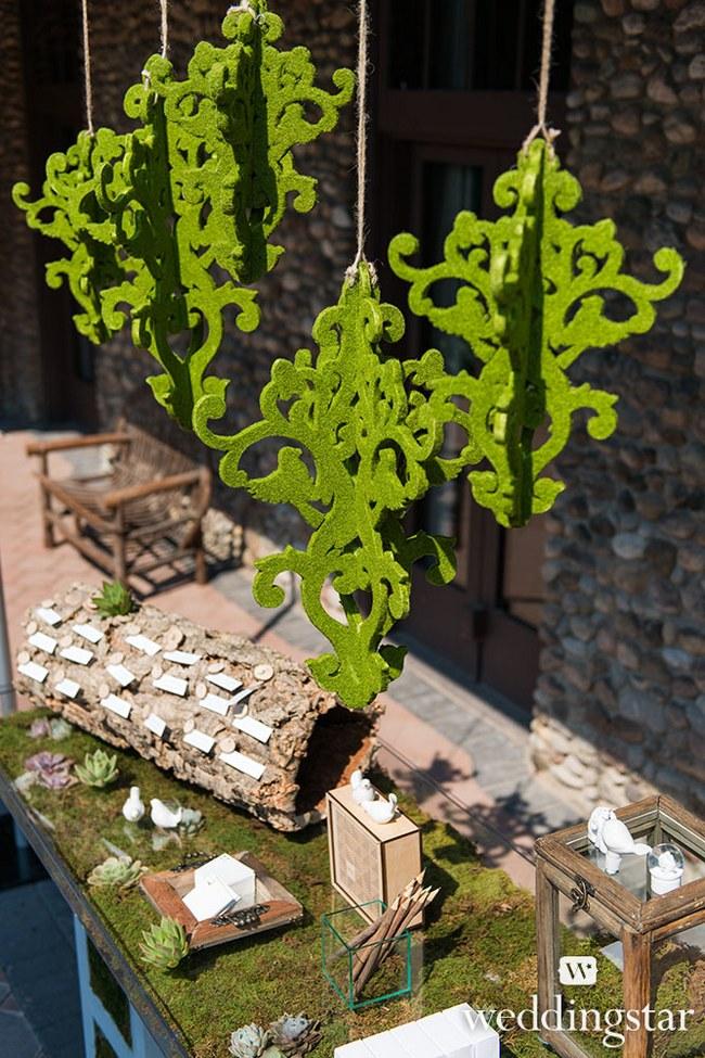 Rustic Woodland Wedding Decor 32