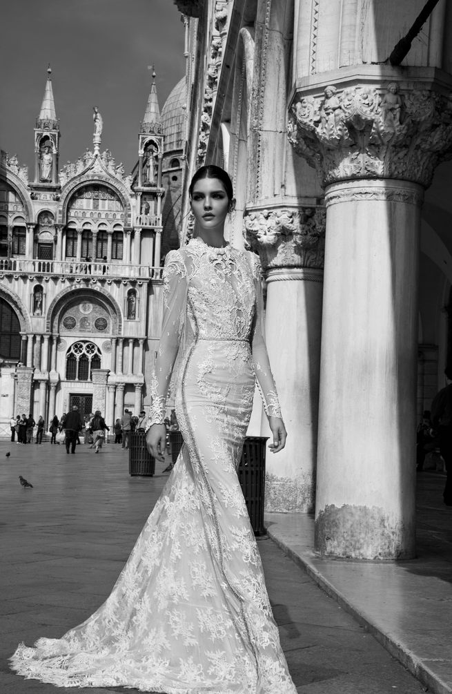 Inbal Dror Wedding Dresses: 2015 Venice Collection - crazyforus