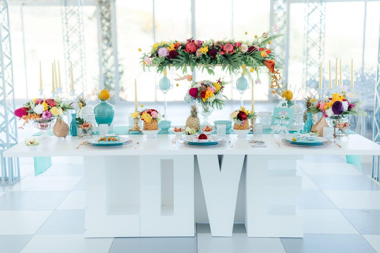 Gorgeously Whimsical Tropical Wedding Ideas