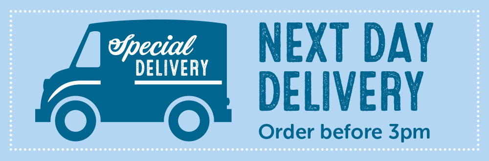 next day delivery truck banner